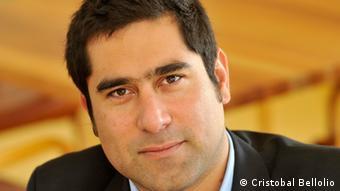 El analista político Cristóbal Bellolio.