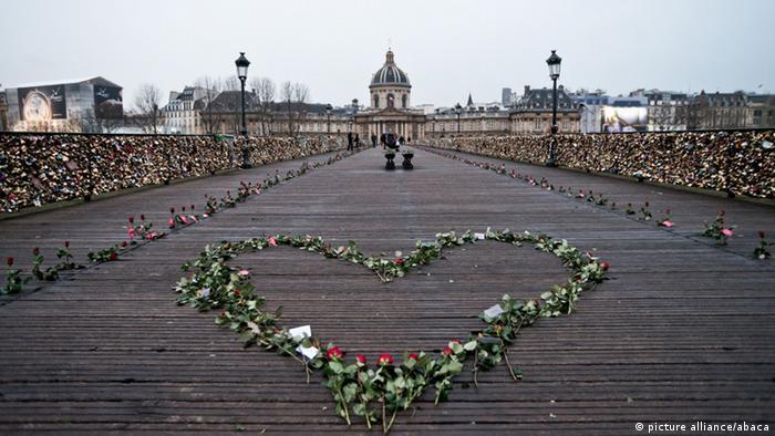 В Париже - городе любви