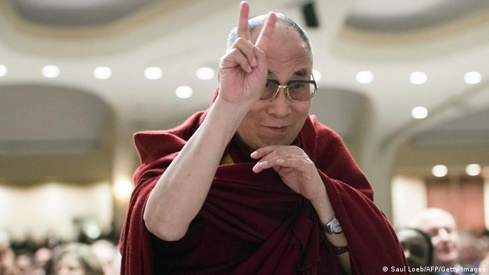 USA Dalai Lama beim National Prayer Breakfast 5.2.2014 (Saul Loeb/AFP/Getty Images)