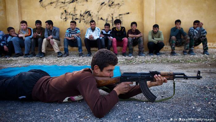 Symbolbild Kindersoldaten IS