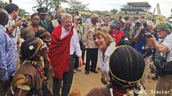Bundespräsident Gauck in Tansania