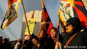 USA National Prayer Breakfast in Washington Anhänger des Dalai Lama (Foto: Reuters)