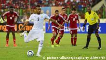 2015 Africa Cup Halbfinale Ghana gegen Äquatorialguinea