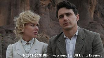 Nicole Kidman and James Franco in 'Queen of the Desert', Copyright: 2013 QOTD Film Investment Ltd.