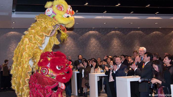 Deutschland China Empfang Frühlingsfest in Düsseldorf