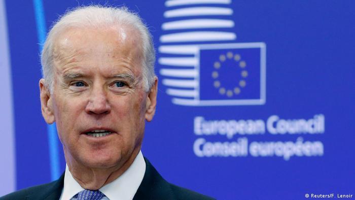 Joe Biden, de visita en Europa, en 2015.