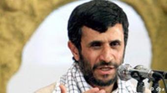 Der iranische Präsident Mahmud Ahmadinedschad