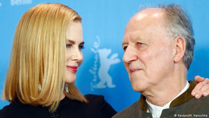 Nicole Kidman and Werner Herzog (Reuters/H. Hanschke)