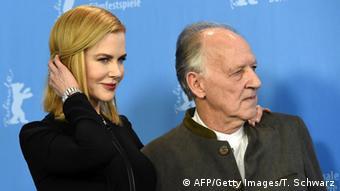 Nicole Kidman y Werner Herzog.