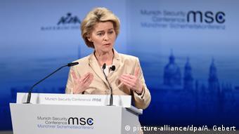 Münchener Sicherheitskonferenz 2015 Rede von der Leyen