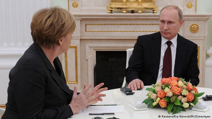 Анґела Меркель та Володимир Путін у Москві (фото з архіву)