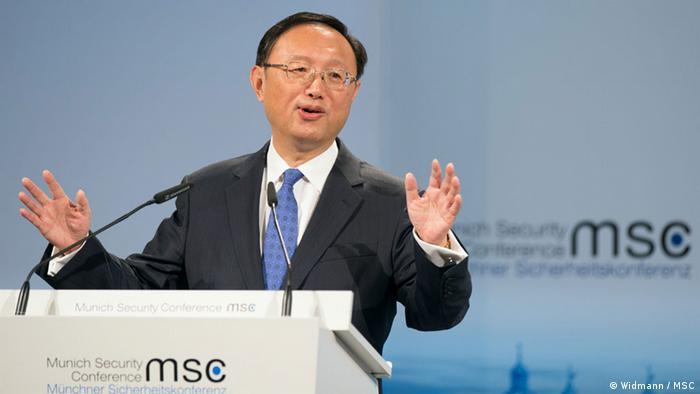 Deutschland Münchner Sicherheitskonferenz 2015 MSC Yang Jiechi