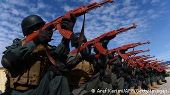 Afghanistan Sicherheitstraining Polizei in Herat