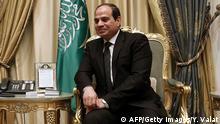 Saudi-Arabien Ägyptens Präsident Al-Sisi