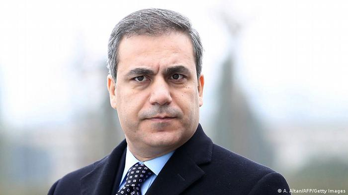 Hakan Fidan Geheimdienstchef Türkei 2014