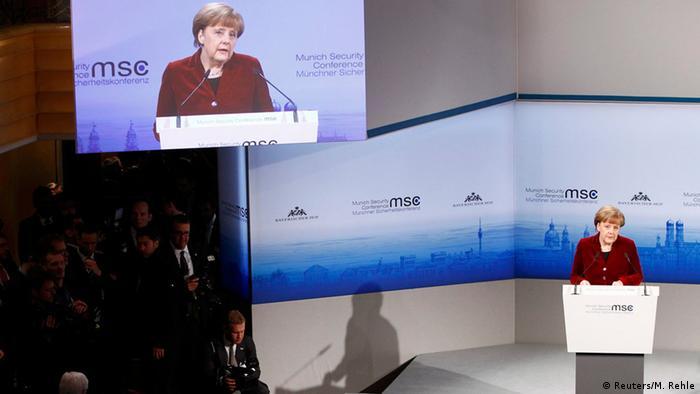 Deutschland Münchner Sicherheitskonferenz 2015 MSC Angela Merkel