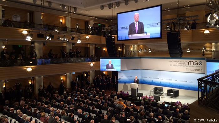 Deutschland Münchner Sicherheitskonferenz 2015 MSC Joseph Biden