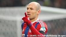 Bundesliga VfB Stuttgart 05 vs FC Bayern 07.02.2015 Arjen Robben