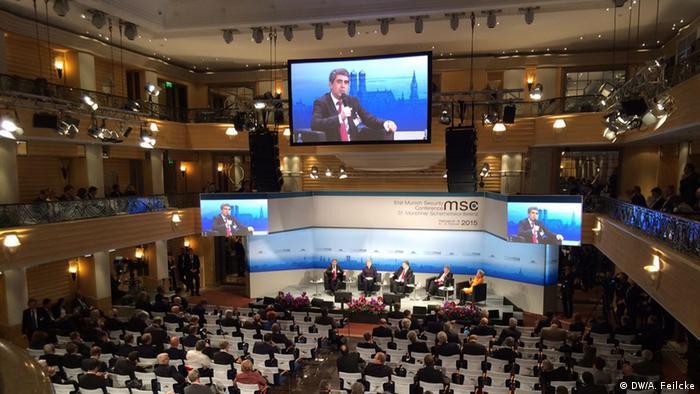 Deutschland Münchner Sicherheitskonferenz 2015 MSC Rossen Plewneliew