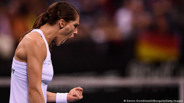 Fed-Cup-Weltgruppe 2015 Tennis Andrea Petkovic