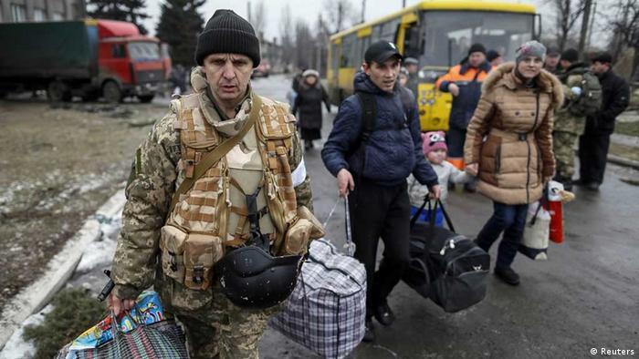 Переселенці зі Східної України (архівне фото)