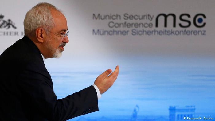 El ministro de Asuntos Exteriores iraní, Mohammad Yavad Zarif.