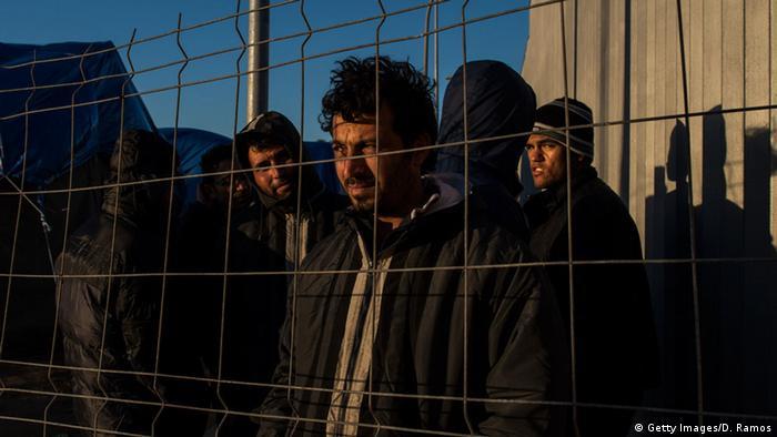 Spanien Enklave Melilla Flüchtlinge am Zaun