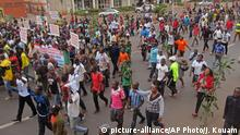Nigeria Demonstration 8. Februar 2015