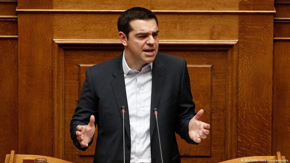 """Tsipras ante el Parlamento: """"El rescate fracasó""""   DW   08.02.2015"""