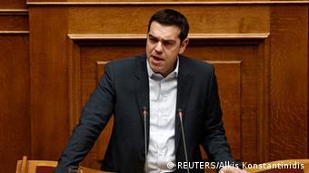 Griechenland Athen Parlament Regierungsansprache Alexis Tsipras