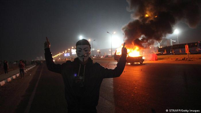 Ägypten Fußball fünf Tote bei Krawallen
