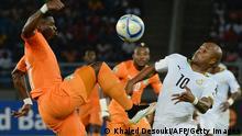 Fußball Afrika Cup Elfenbeinküste vs. Ghana