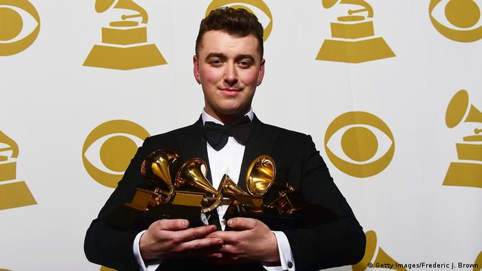 Sam Smith bei den Grammy Awards 2015 (FREDERIC J. BROWN/AFP/Getty Images)