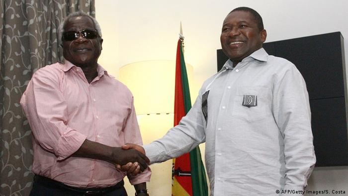Encontro entre Afonso Dhlakama e Filipe Nyusi em Maputo (2015)