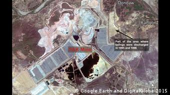 Myanmar Zwangsräumung Kupfermine Monywa