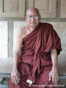 Myanmar Zwangsräumung Kupfermine Letpadaung U Teikkha Nyana