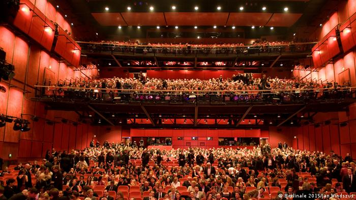 Berlinale Palast theater in 2015. Copyright: Berlinale