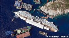 Bildergalerie Costa Concordia zum Urteil Kapitän Schettino