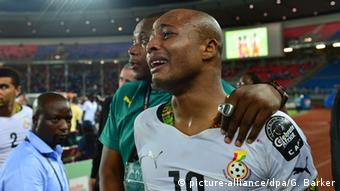 Afrika 2015 Africa Cup of Nations (Andre Ayew) (picture-alliance/dpa/G. Barker)