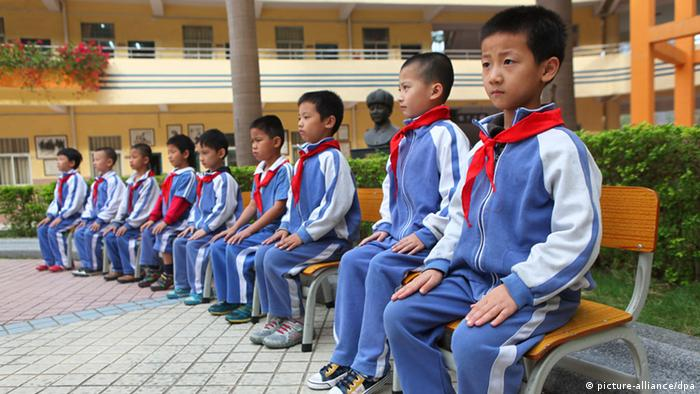 Symbolbild China Schule (picture-alliance/dpa)