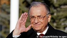 Ion Iliescu Präsident Rumänien 2003