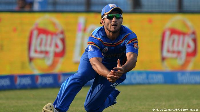 Afghanistan Cricket-Team (Bildergalerie) Gulbadin Naib (M. Uz Zaman/AFP/Getty Images)