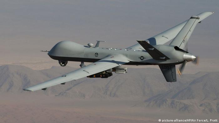 MQ-9 Reaper Drohne Drohnenkrieg Ziel Drohnenangriff Afghanistan