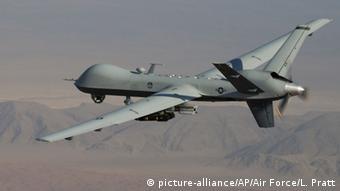 MQ-9 Reaper-Drohne über Afghanistan (Foto: picture-alliance/AP/Air Force/L. Pratt)