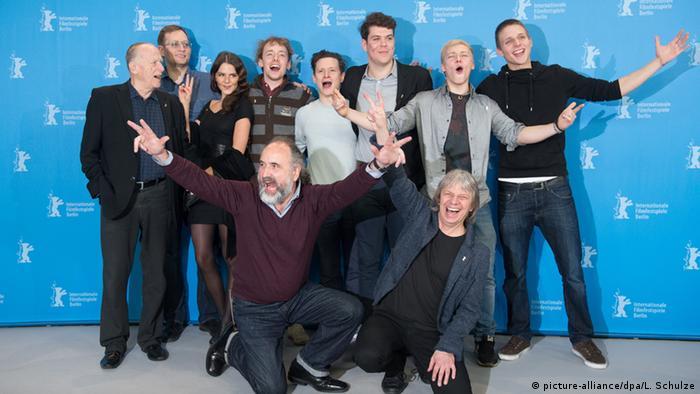 Deutschland Berlinale 2015 Als wir träumten (Pressekonferenz) (picture-alliance/dpa/L. Schulze)