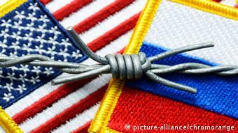 Symbolbild Beziehungen USA Russland Kalter Krieg