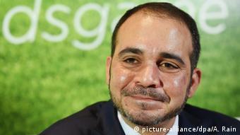 London Kandidat FIFA Präsidentschaft Ali bin Al-Hussein