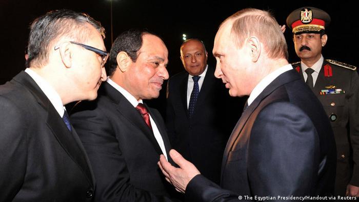 Kairo Besuch Putin bei al-Sisi