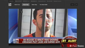 Berichterstattung der US Medien zum Verbrennungsvideo des Piloten Al-Kasaesbeh