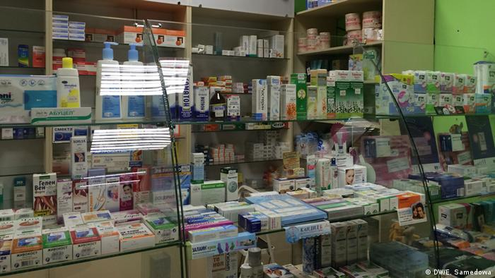 Russian pharmacy in Moscow (DW/E. Samedowa)